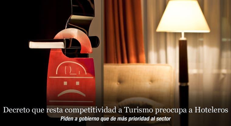 Decreto que resta competitividad a Turismo preocupa a Hoteleros