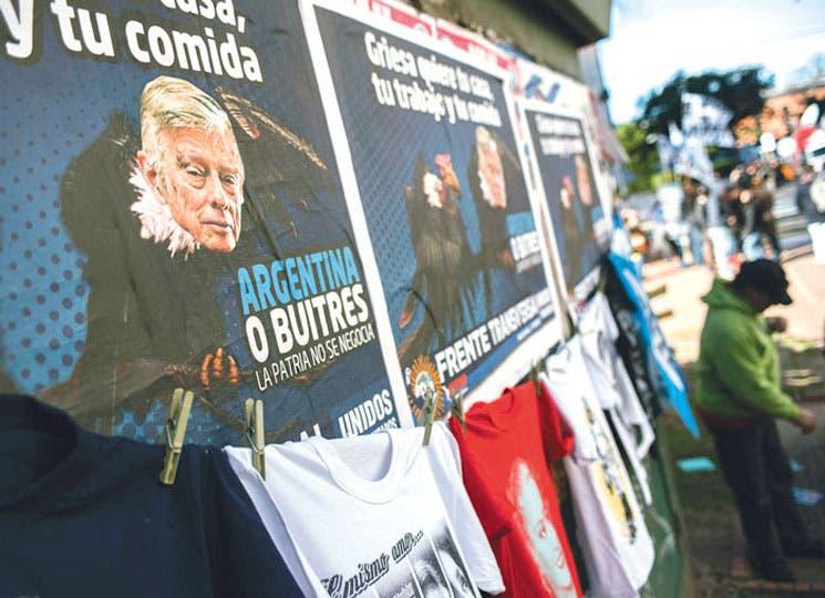 """Argentina pide """"repudio"""" para declaración de juez de EEUU"""