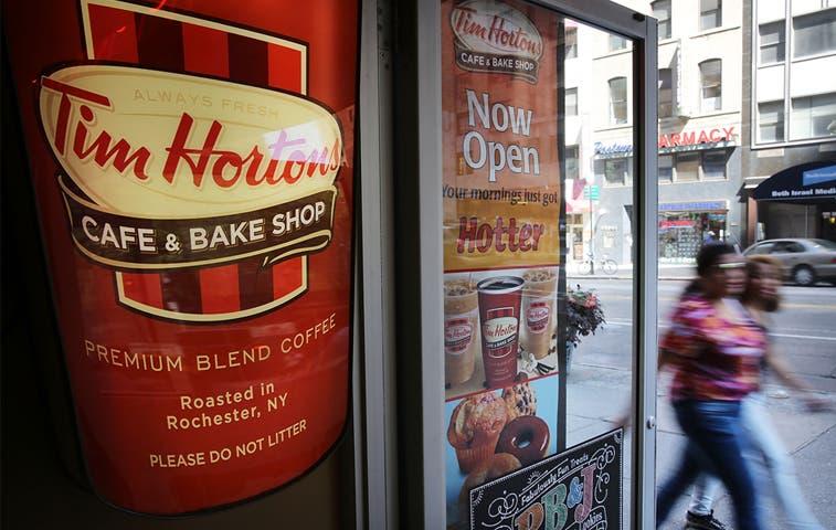 Burger King adquiere cadena canadiense Tim Hortons