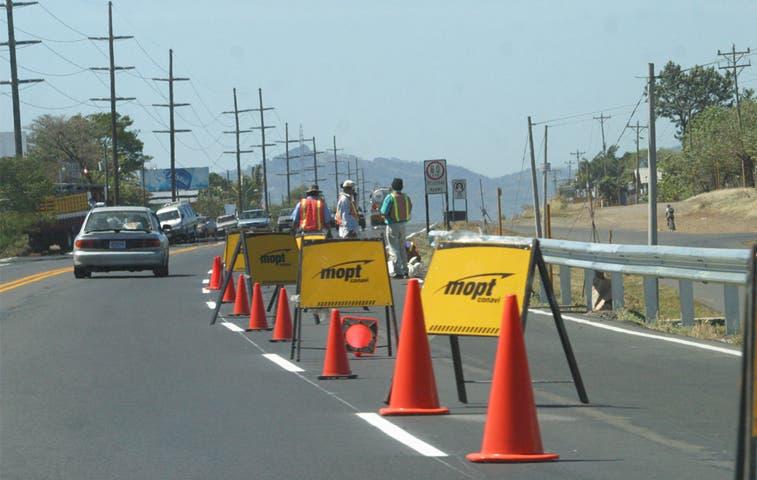 Cambios para obras en vía a San Ramón, sin filtro legislativo
