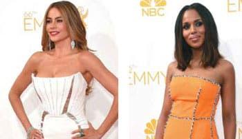 Elegancia brilló en los Emmy