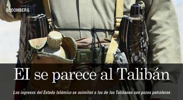 Estado Islámico se parece a Talibanes
