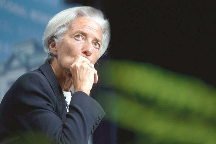 Lagarde imputada por caso de corrupción en Francia