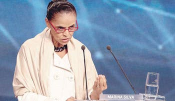 Silva se perfila como favorita en Brasil