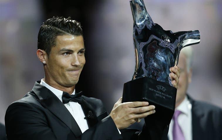 Cristiano Ronaldo: mejor jugador europeo del año