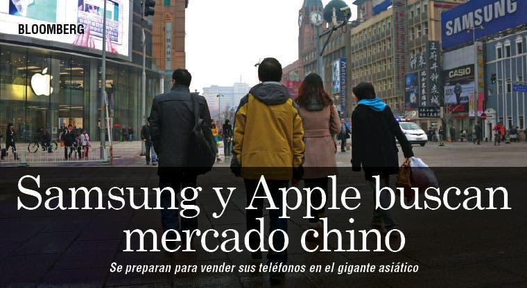 Apple y Samsung enfrentan muralla para vender teléfonos en China