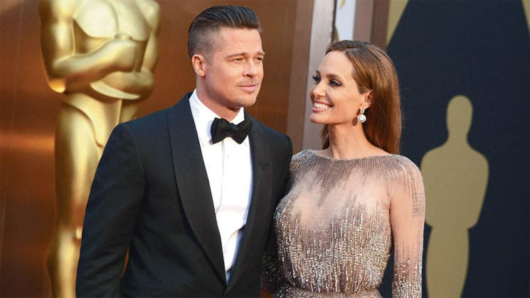 """Pitt y Jolie se dan el """"sí, quiero"""""""