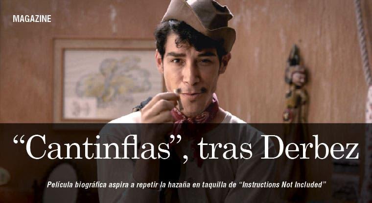 Cantinflas, tras los pasos de Derbez