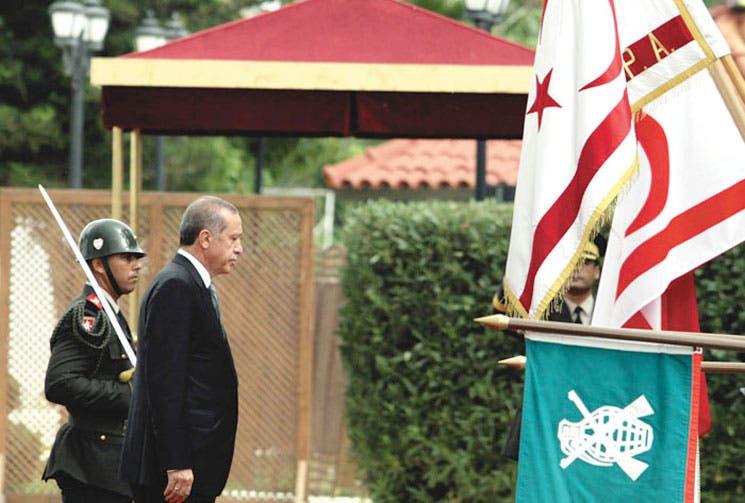 Erdogan apuesta por creación de dos Estados en Chipre