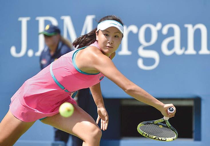 Peng, primera semifinalista