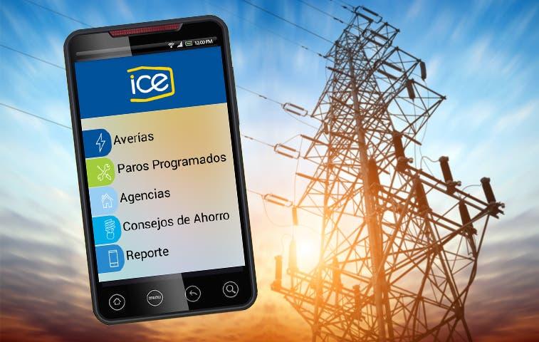 Usuarios del ICE tienen App para consultas y reportes
