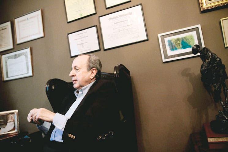 """Calderón: """"Si no hacemos algo con el déficit, se nos saldrá de las manos"""""""