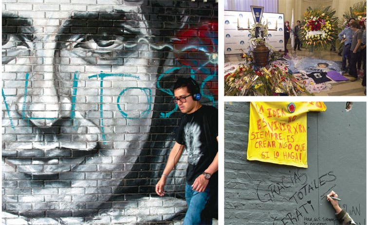 Miles dan el último adiós a Gustavo Cerati
