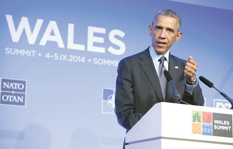 Obama propone alianza ante crisis en Ucrania e Irak
