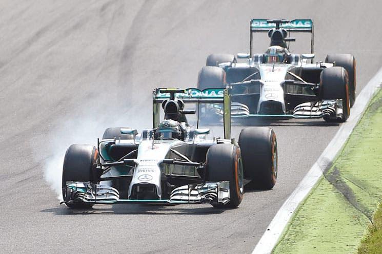 ¡Doblete de Mercedes en Monza!