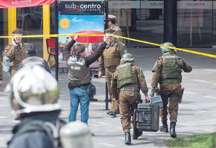 Atentado terrorista ocasionó explosión en centro comercial de Chile