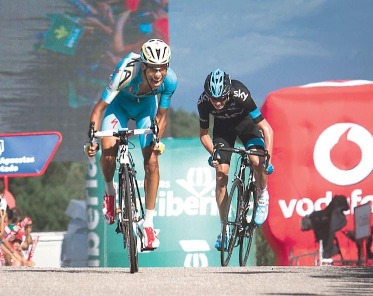Froome asusta a Contador