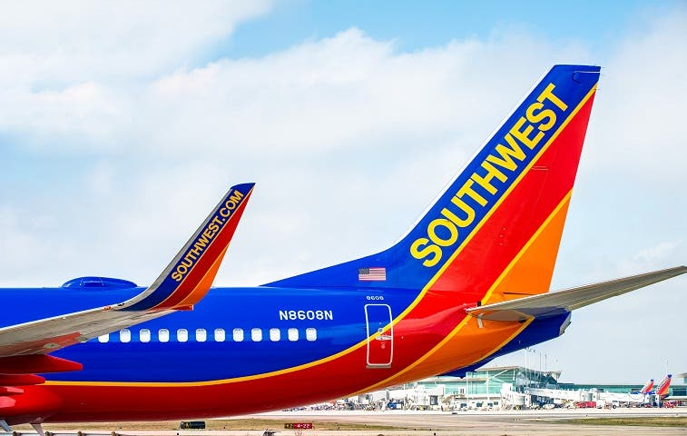 Southwest Airlines anuncia operación en Costa Rica para 2015