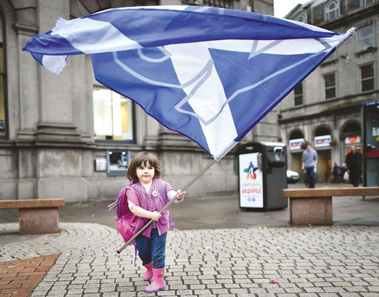 """Ministro británico alerta del """"fin"""" del Reino Unido si Escocia se independiza"""