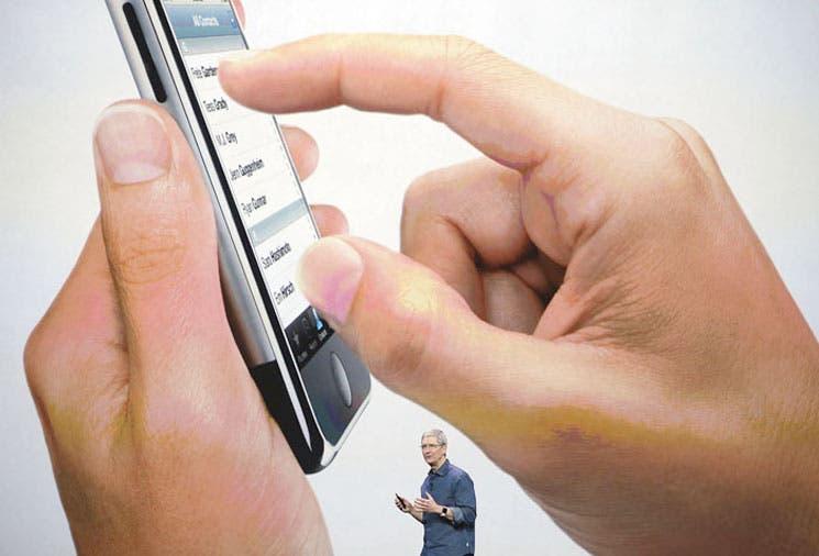 Apple rompe récords de ventas con iPhones 6