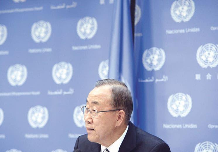 Ban Ki-moon respalda los ataques de EE.UU. contra el EI