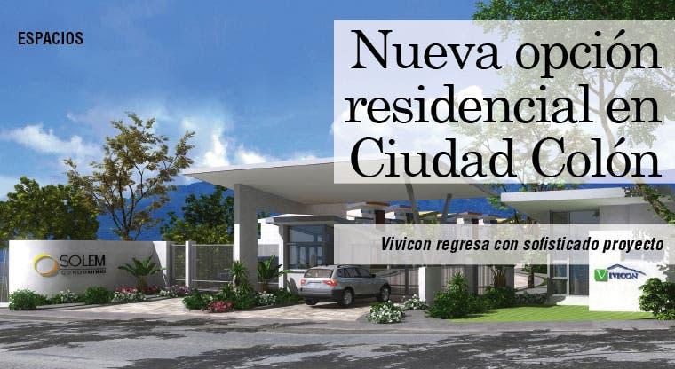 Nueva opción residencial en Ciudad Colón