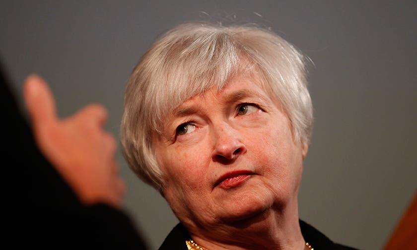 Yellen ve debilidad financiera luego de bajar el estímulo ayer