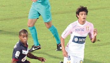 Tejeda debut y gol