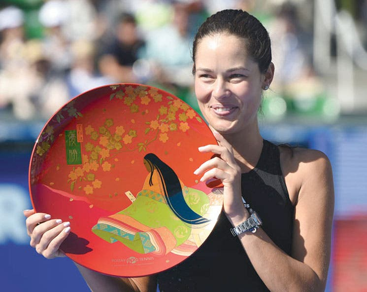 Ivanovic, reina de Tokio