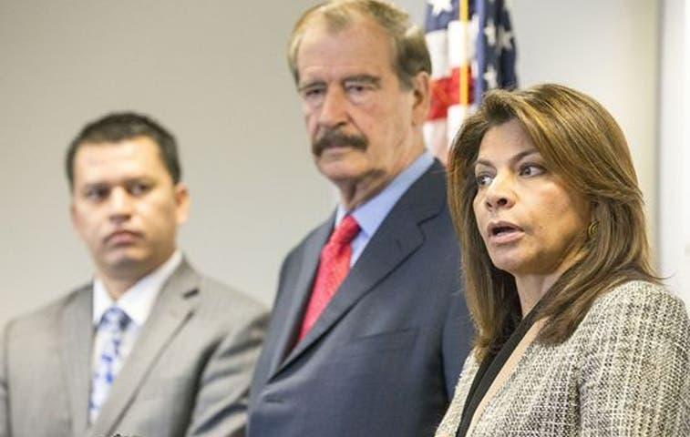 Laura Chinchilla y Vicente Fox se reunieron con empresarios en Arizona