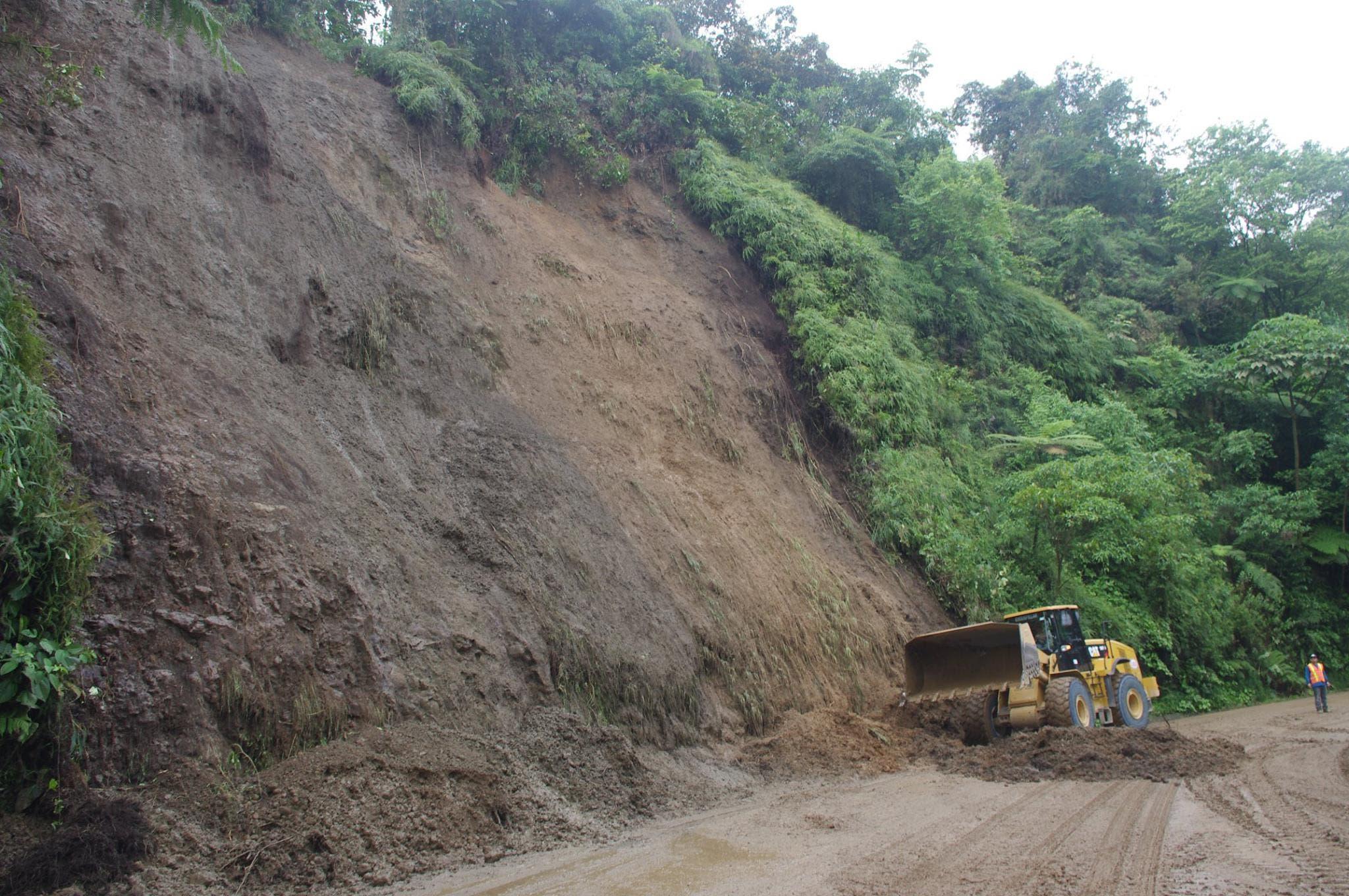 Ruta 32 estará cerrada por fuertes lluvias