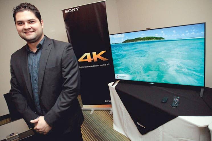 Sony presentó su línea de televisores 4K