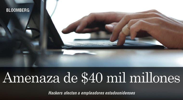 Hackers representan una amenaza de $40 mil millones para empleadores de EE.UU