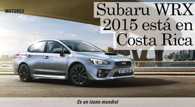 Subaru WRX 2015 está en Costa Rica