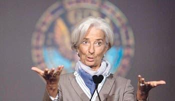 Lagarde advierte de mediocre crecimiento económico global