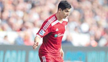 Gamboa jugaría ante el Liverpool
