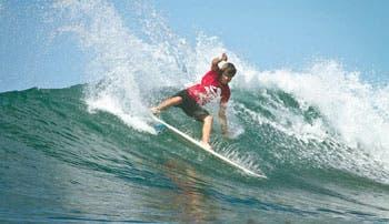 Sele de Surf con fuertes bajas