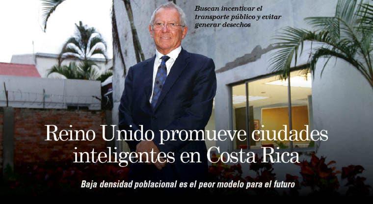Reino Unido promueve ciudades inteligentes en Costa Rica