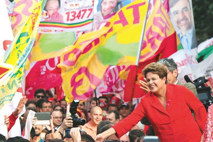 Rousseff ganó primera ronda y disputará segunda con Neves