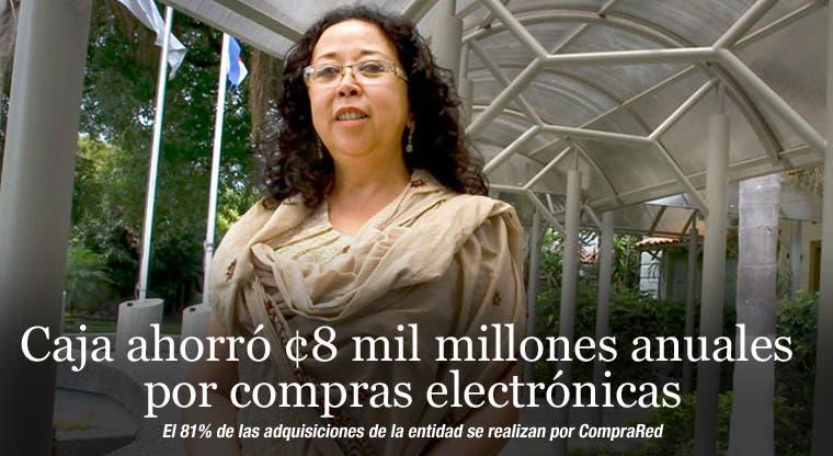 Caja ahorró ¢8 mil millones anuales por compras electrónicas