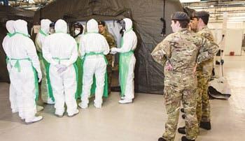 Autoridades aumentan prevención por caso de ébola en España
