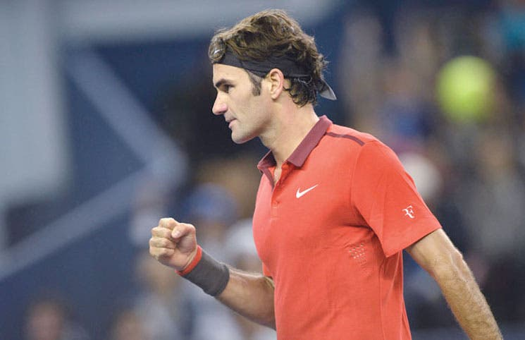 """Me lo merezco"", Federer"