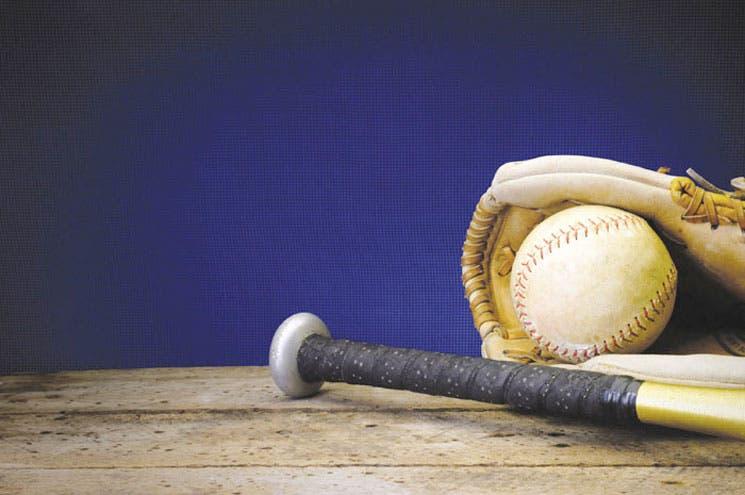 El béisbol de cabeza