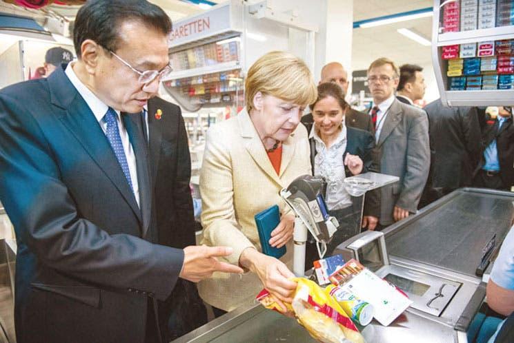 Alemania y China firman 19 acuerdos para estrechar sus relaciones económicas
