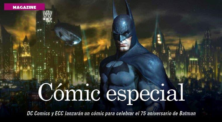 Editan un cómic especial de Batman