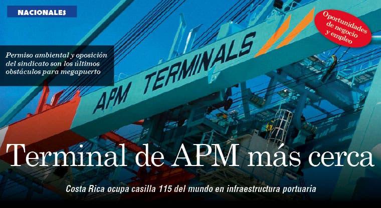 Terminal de APM más cerca