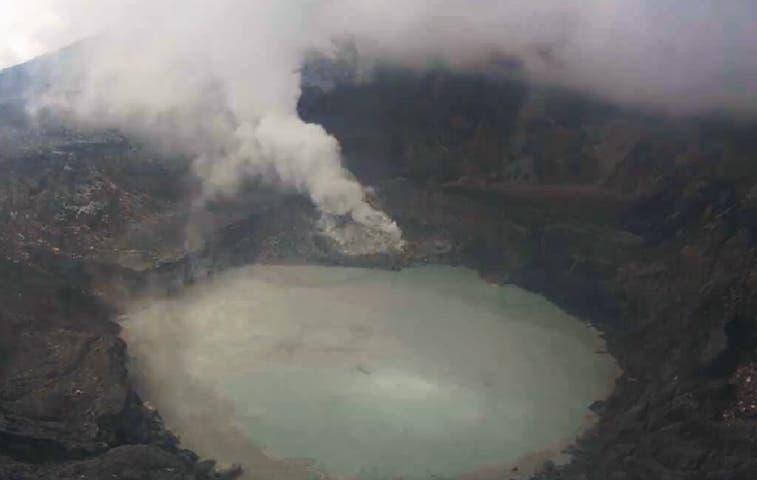 Nueva erupción del Poás activó protocolos de emergencia
