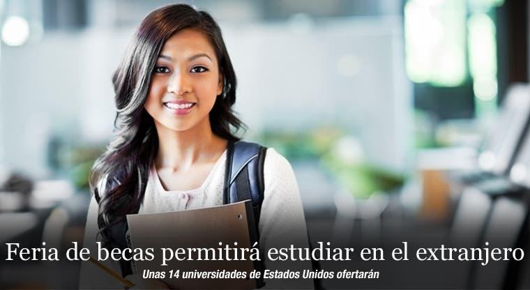 Feria de becas permitirá estudiar en el extranjero