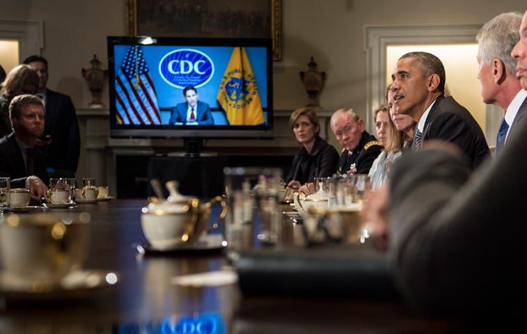 Obama movilizará a Guardia Nacional para combatir el ébola