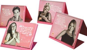 Calendario recuerda a mujeres practicarse el autoexamen